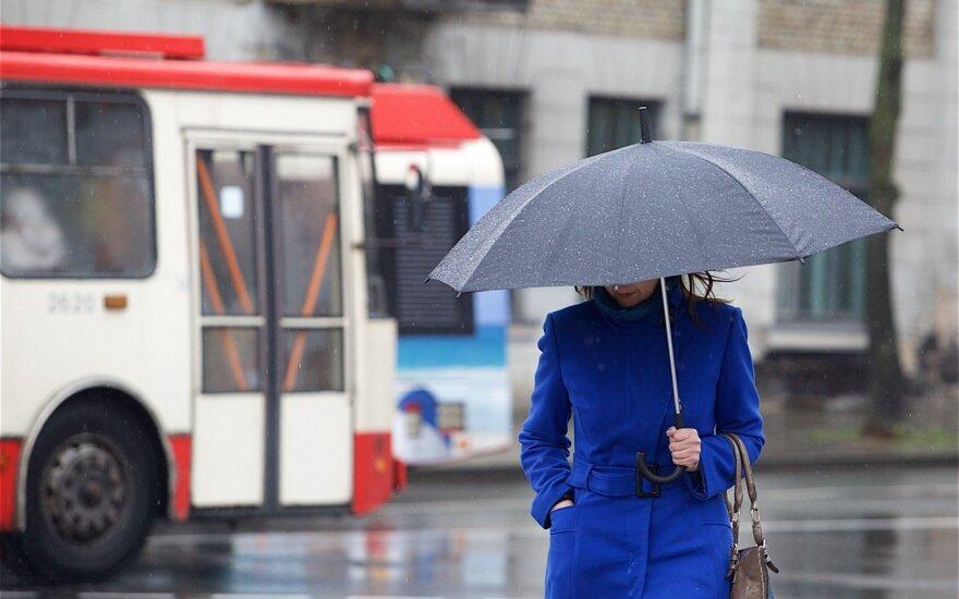 Gamta staigmenų nepagailės: ūžaus stiprus vėjas, šlapdribą keis lietus