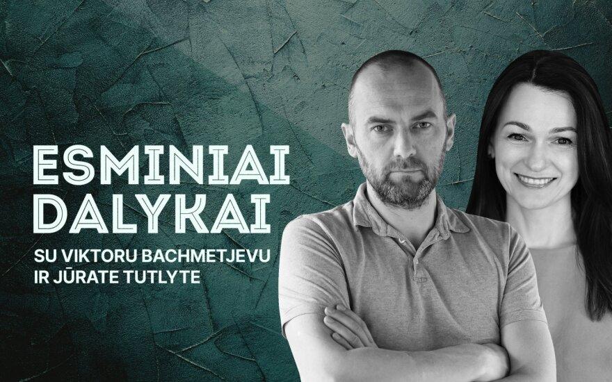 Viktoras Bachmetjevas ir Jūratė Tutlytė
