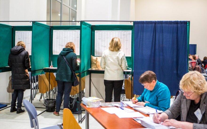 Rinkiminis ažiotažas: išankstinis balsavimas Vilniuje pratęstas