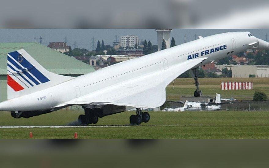 Concorde lėktuvas