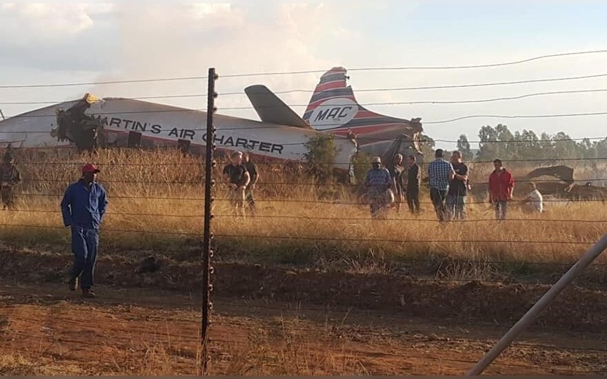 Lėktuvo katastrofa PAR, Pretorijoje