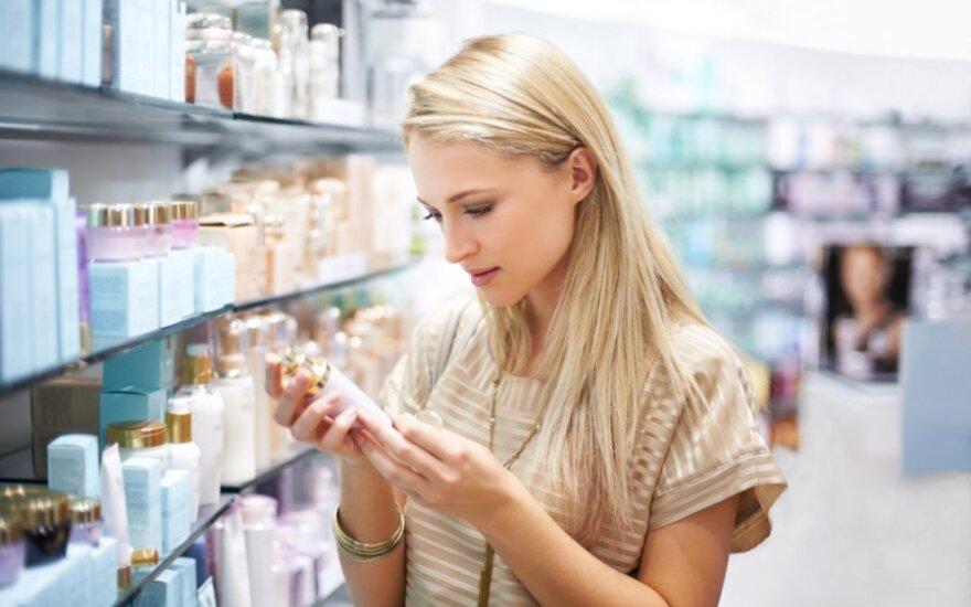 Mokesčių inspektoriams įkliuvo kosmetikos parduotuvių tinklas