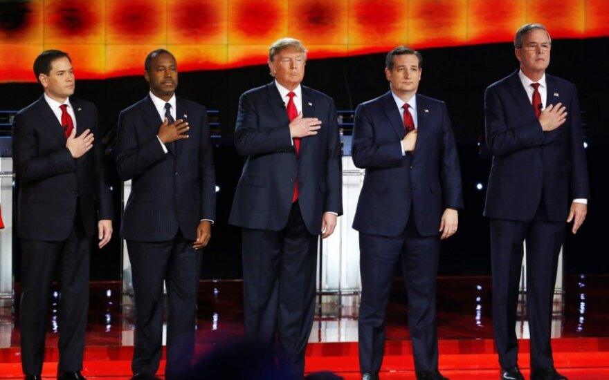 The Republican presidential candidates
