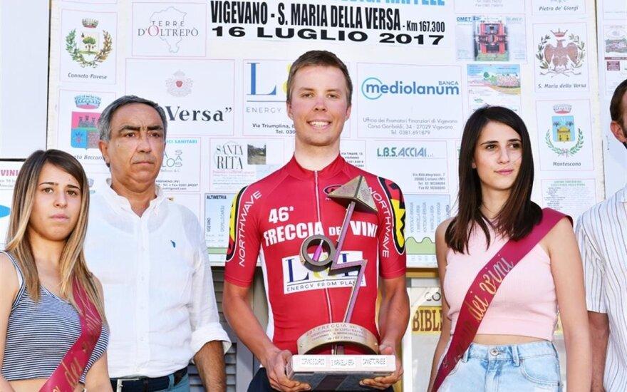 Raimondas Rumšas jaunesnysis (Federciclismo.it nuotr.)