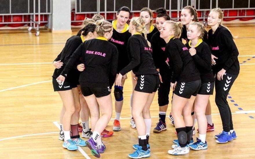 """""""Eglė – Šviesa – SM Tauras"""" / Foto: Lietuvos rankinio federacija"""