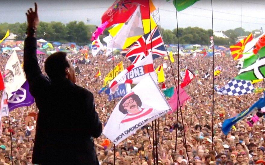 Lionel Richie, Glastonbury festivalis
