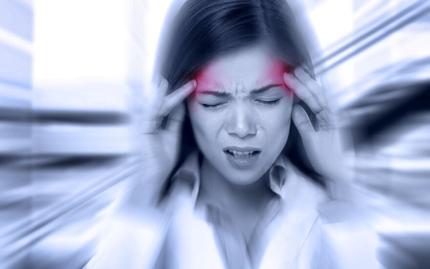 9 netikėtos galvos skausmo priežastys