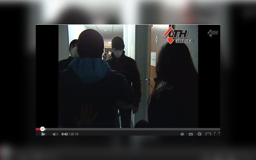 Pogromas Charkovo televizijoje