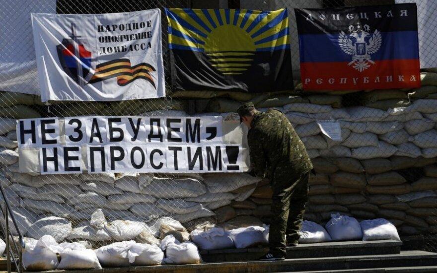 """""""Donecko respublika"""" prašosi į Rusijos sudėtį"""