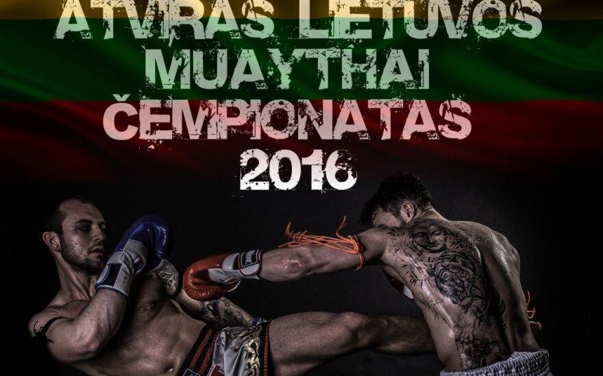 Lietuvos muaitai čempionato plakatas