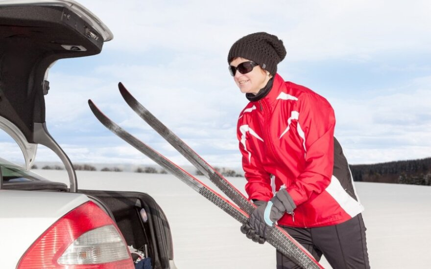 Reikia bėgti ir (ar) slidinėti?