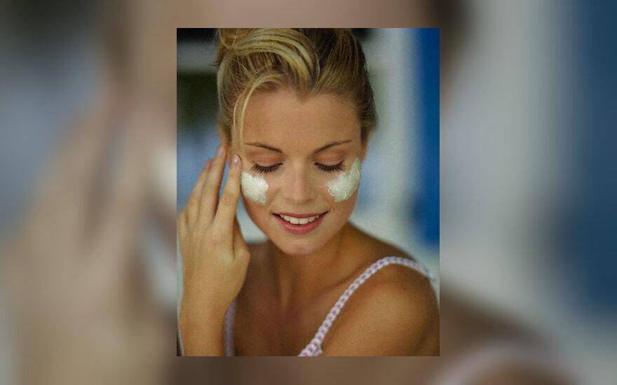 Grožis, moteris, odos priežiūra