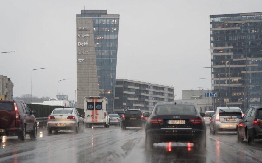 Kelininkai įspėja: naktį daugelyje rajonų numatomi krituliai
