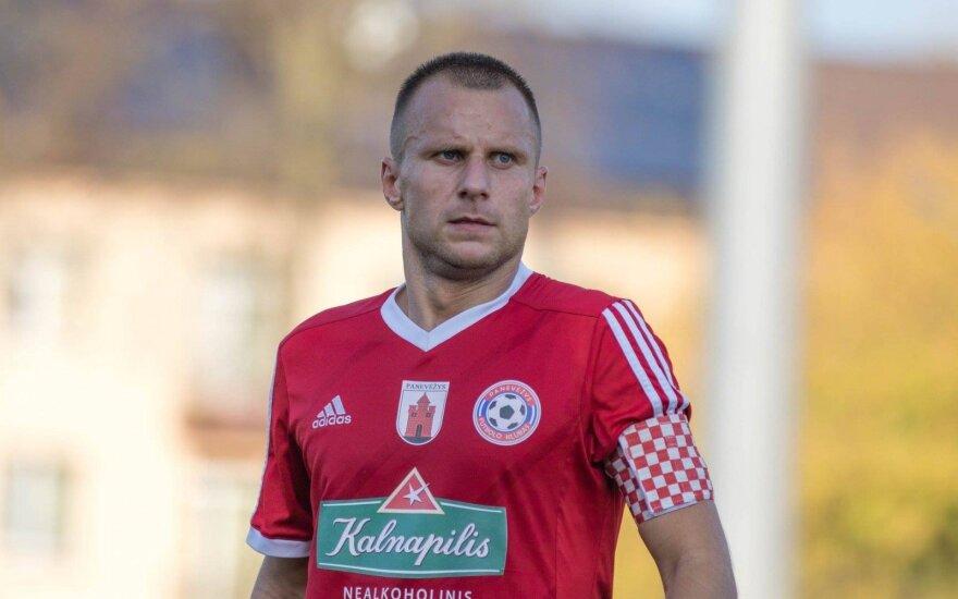 """Paulius Janušauskas (FK """"Panevėžys"""" nuotr.)"""