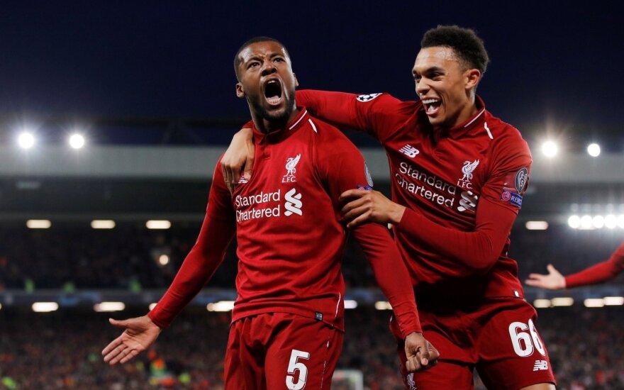 "UEFA Čempionų lygos pusfinalis: ""Liverpool"" - ""Barcelona"""