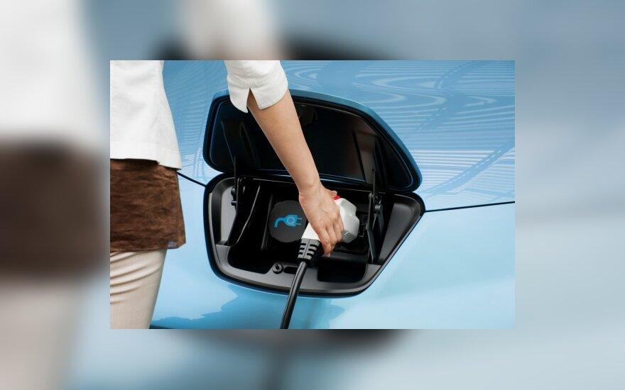 Ar ateitis priklauso elektromobiliams?