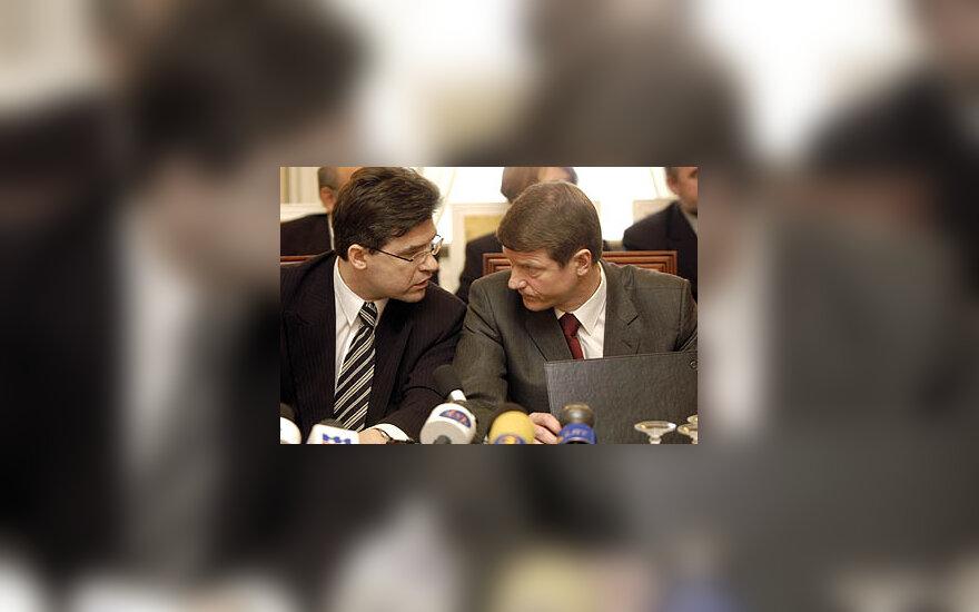 Alvydas Medalinskas ir Rolandas Paksas