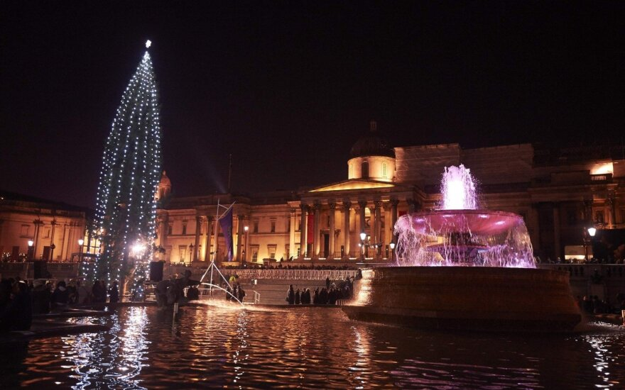 Kalėdų eglė Trafalgaro aikštėje, Londone