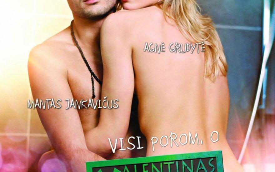"""""""Valentinas vienas"""" plakatas (""""Tauras Films"""" nuotr.)"""