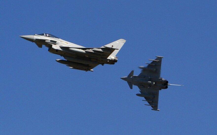 Eurofighter Typhoon fighter jets