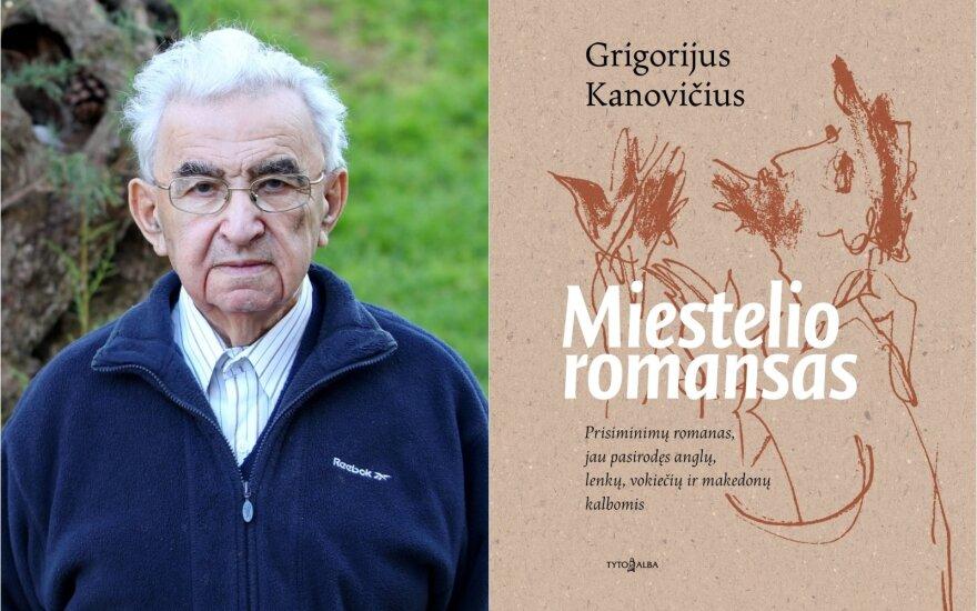 """Grigorijus Kanovičius """"Miestelio romansas"""""""