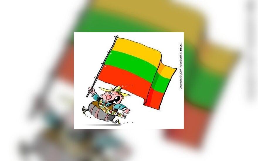 P.Subačius: bėdos su įvaizdžiu prasidėjo nuo afrikietiškos vėliavos