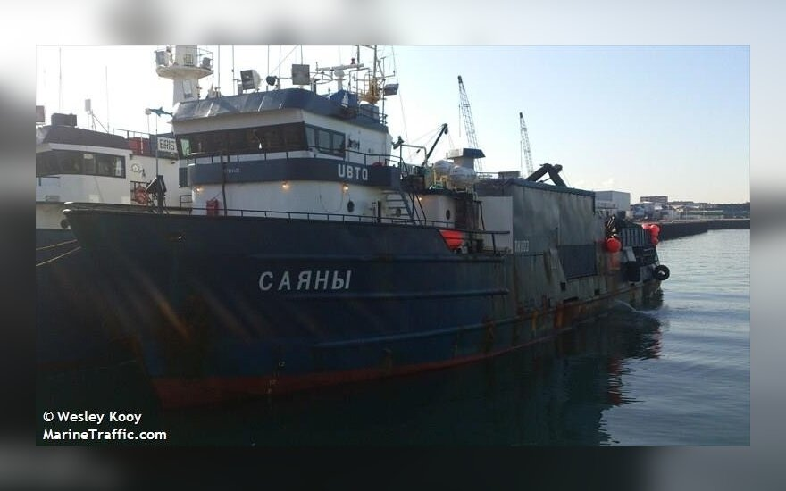 Russian court substantially reduces bail for Lithuanian ship