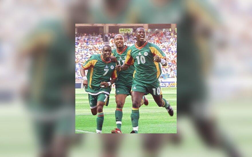 Senegalo futbolininkai