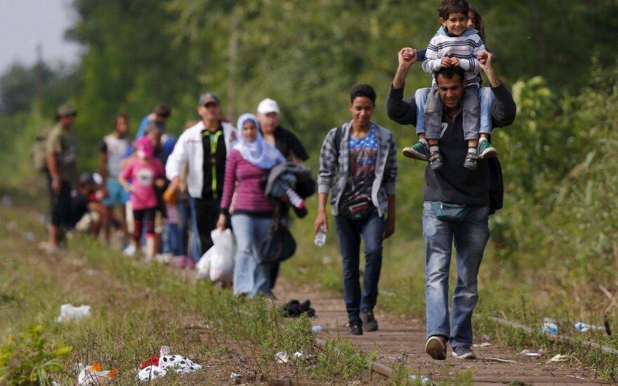 Vengrijoje – rekordinis migrantų antplūdis