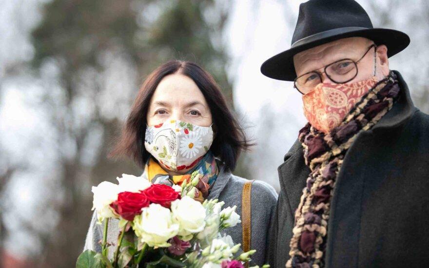 71-erių aktorius Vladas Bagdonas vedė trečiąjį kartą: jo išrinktoji – baltarusių teatro kritikė