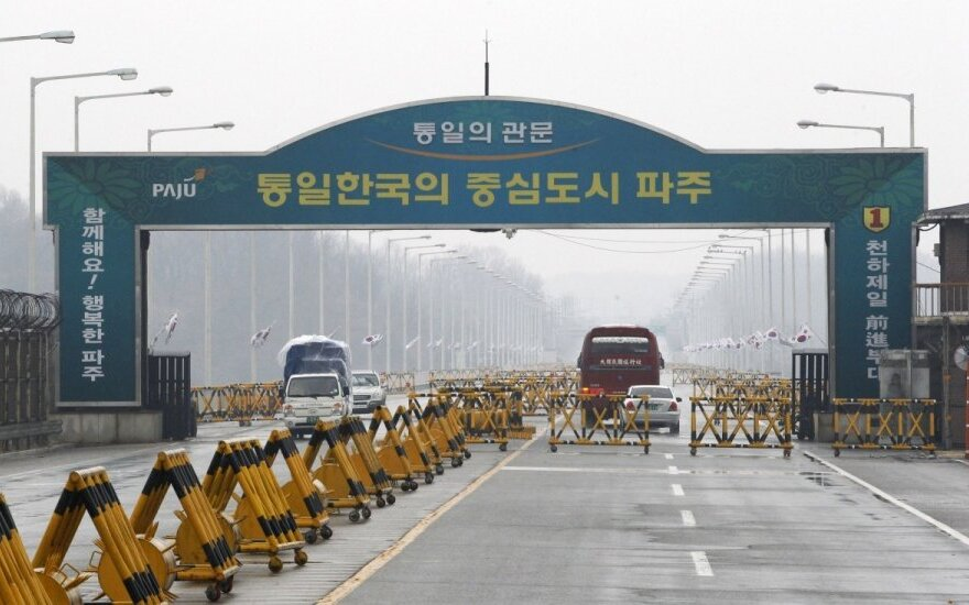 Šiaurės ir Pietų Korėjos sėdo prie derybų stalo