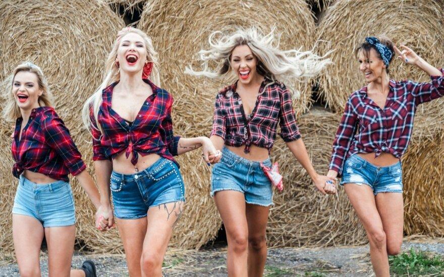 """Naujoji """"POP Ladies"""" sudėtis Foto/ Joe Black Photography"""