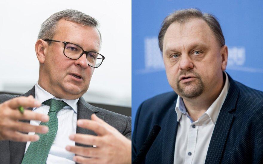 VTEK kreipėsi į Seimo komitetą dėl Sutkaus ir Zalatoriaus iniciatyvų