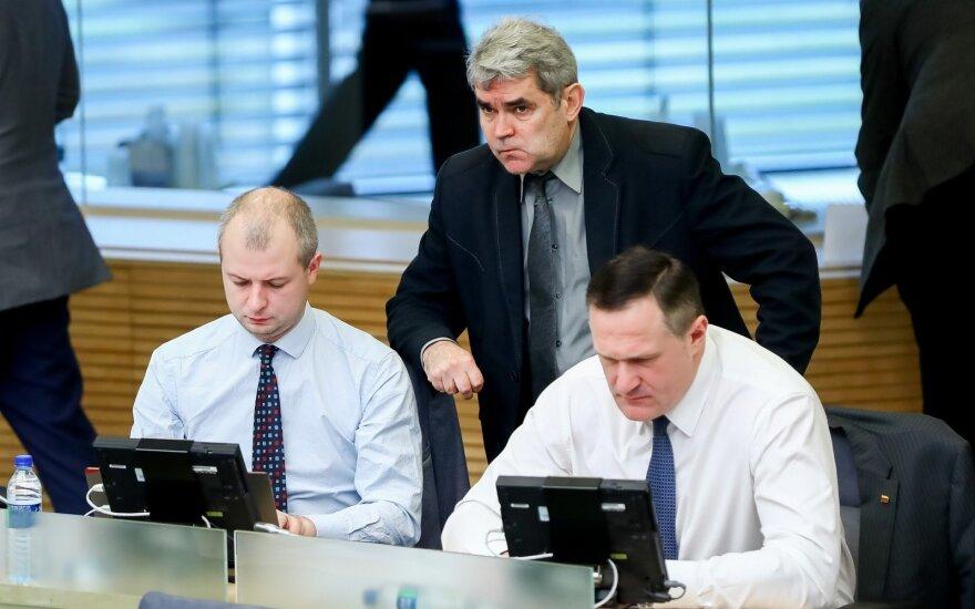 Simonas Gentvilas, Gintaras Vaičekauskas, Virgilijus Alekna