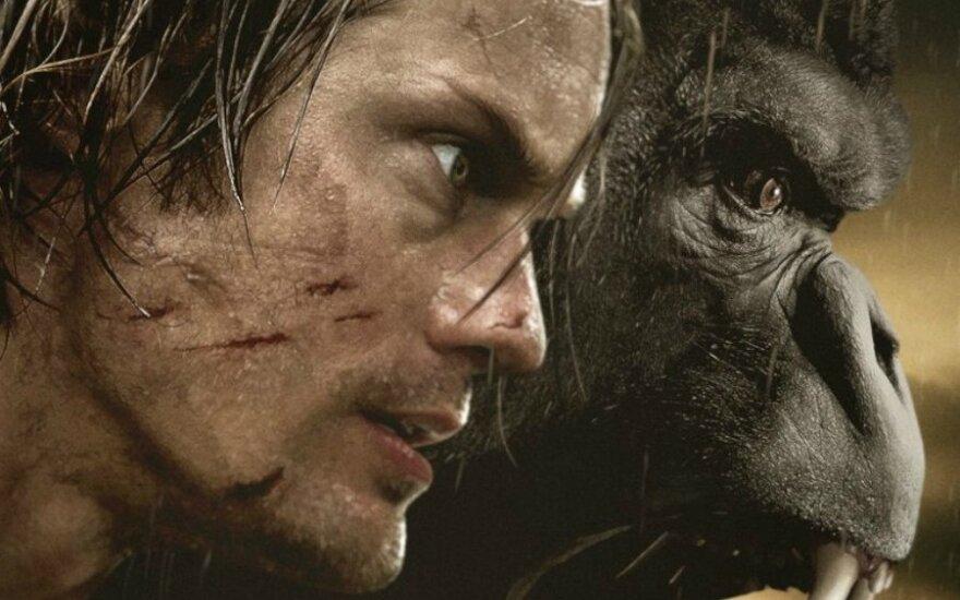 """Kadras iš flm """"Tarzanas: džiunglių legenda"""""""