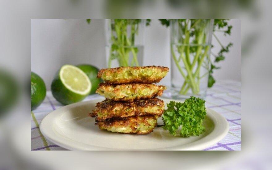 Greitai paruošiami vegetariški blyneliai