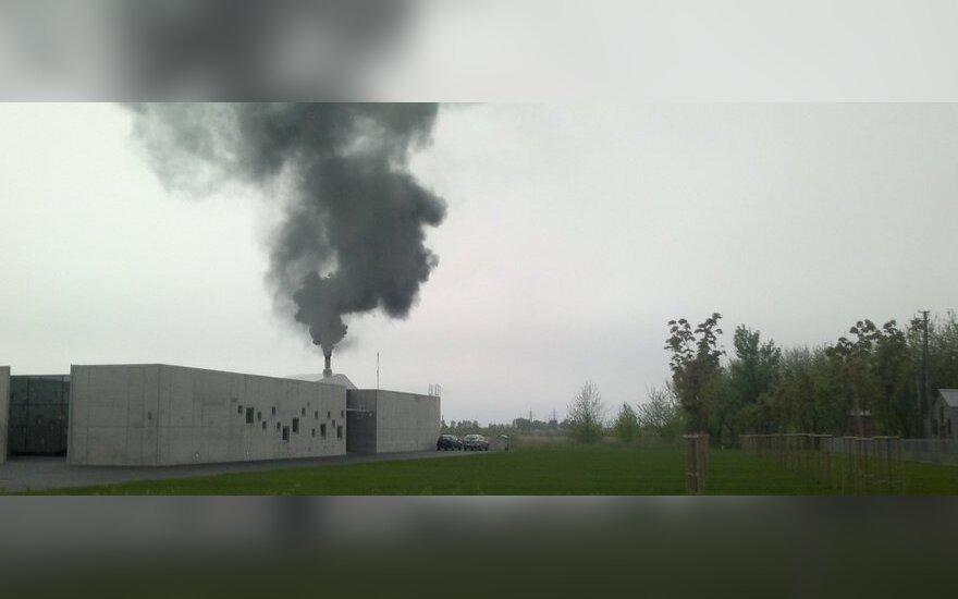 Dūmai iš krematoriumo