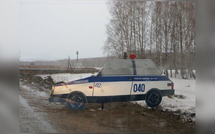 Policijos muliažas Rusijoje
