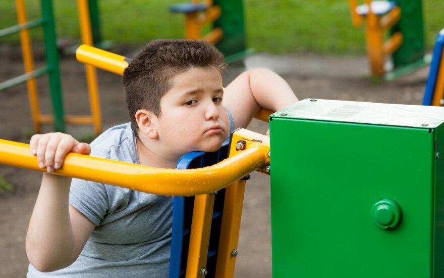 Prognozuojama, kad iki 2030 metų pasaulyje nutukusių vaikų padaugės iki 250 mln.