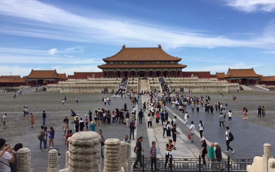 """Kinija naujuosius JAV muitus vadina """"rimtu išpuoliu"""" prieš pasaulio prekybos sistemą"""