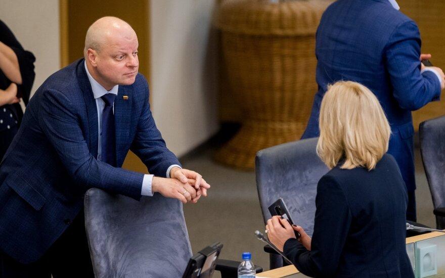 Saulius Skvernelis, Rita Tamašūnienė