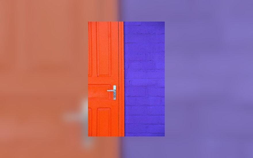 Sienos, spalvos