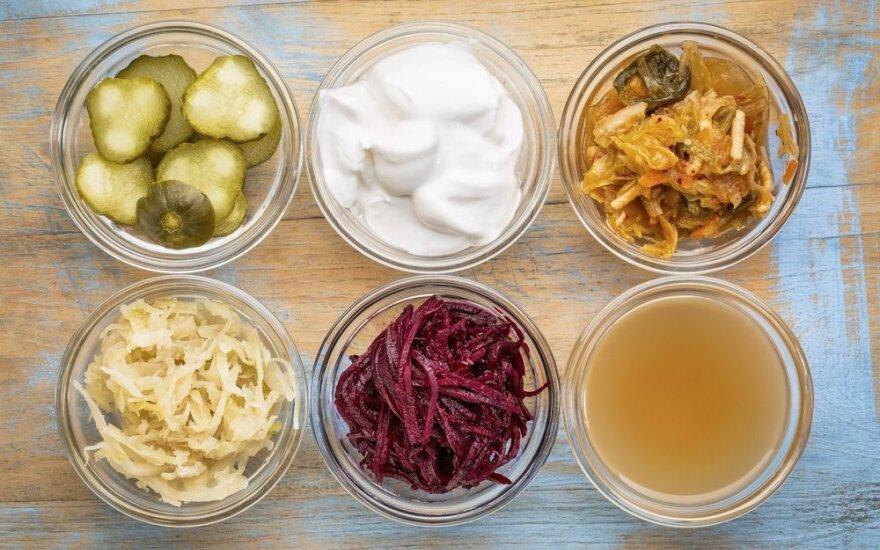 Mokslininkai nustatė, kaip rauginti maisto produktai veikia mūsų organizmą