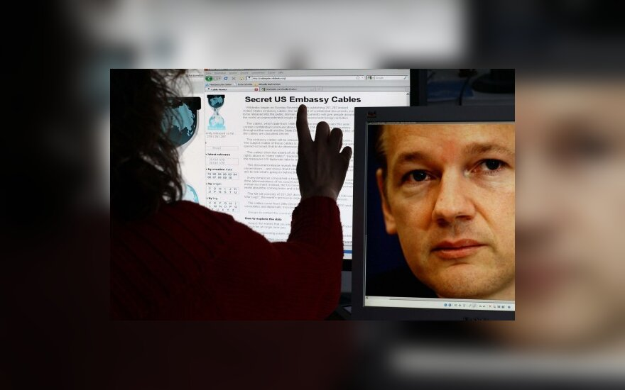 """""""WikiLeaks"""": mus nužudė JAV interneto paslaugų teikėjai"""