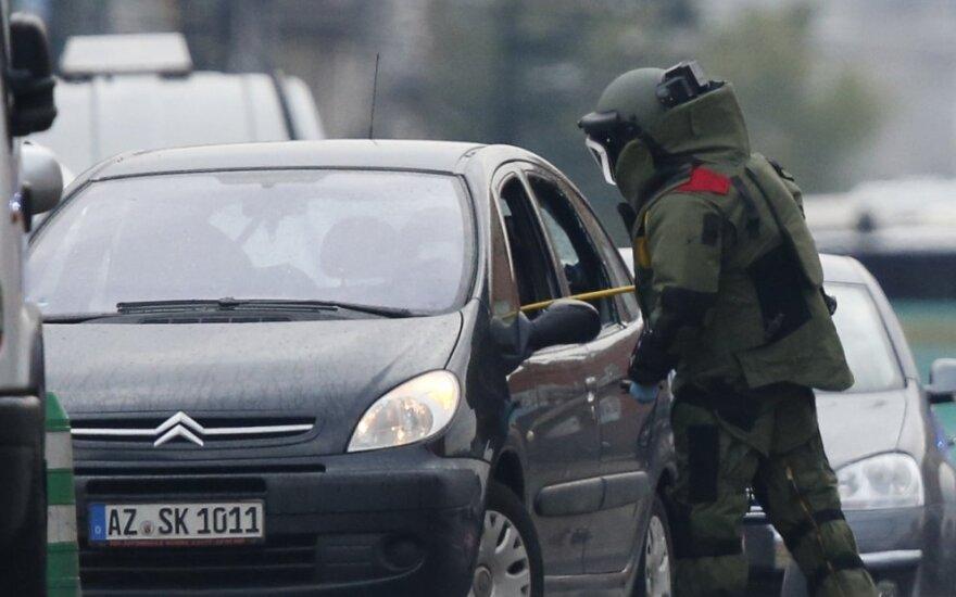 Prokurorai: Briuselyje rasti sprogmenys priklausė buvusiam Rusijos kariui