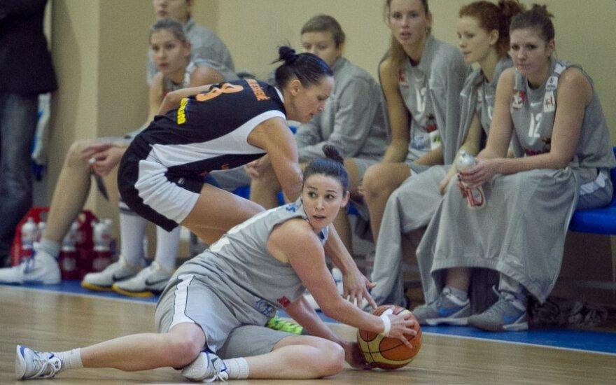 """Moterų krepšinio rungtynės: Vilniaus """"Kibirkštis-Tichė-IKI"""" – Klaipėdos """"Lemminkainen"""""""