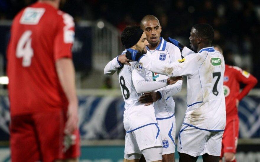 """""""Auxerre"""" futbolininkai"""