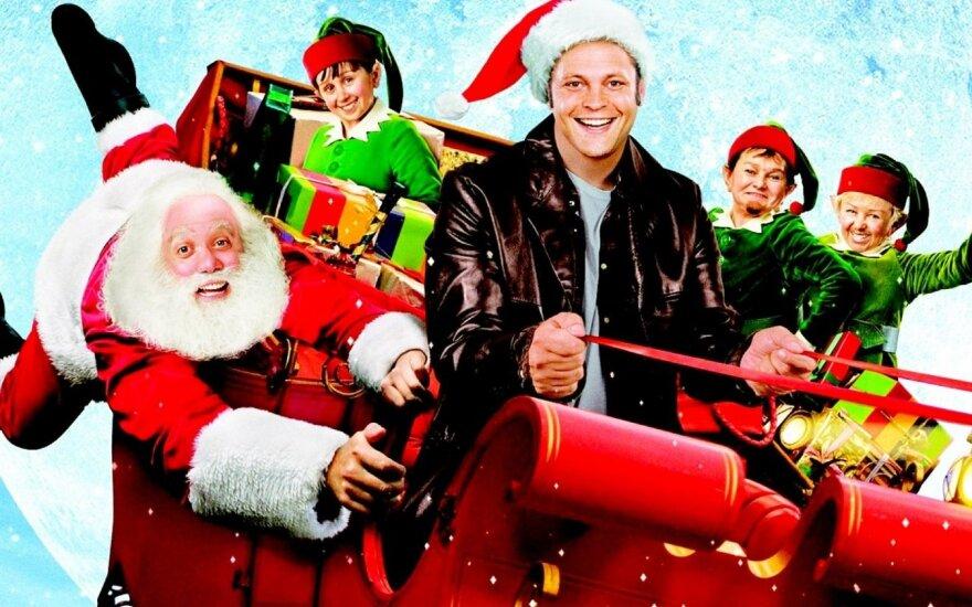 5 įdomiausi kalėdiniai filmai apie Kalėdų Senelius