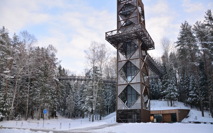 Lithuanian treetop walk receives UNWTO tourism innovation award