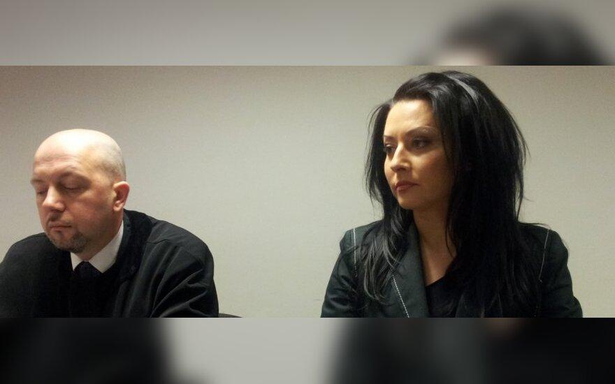 Irma Jurgelevičiūtė ir jos advokatas